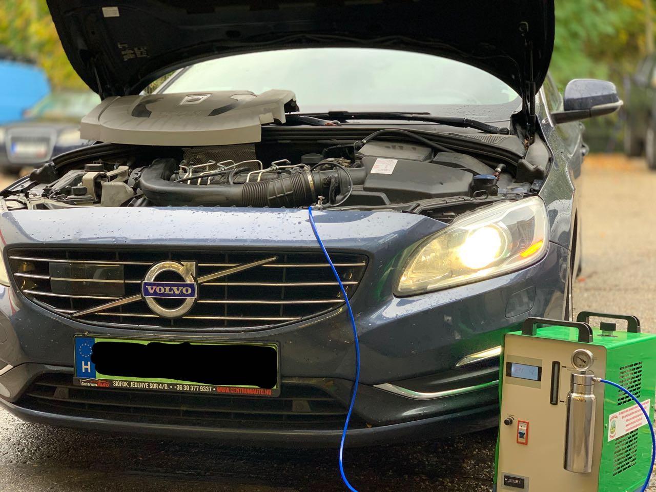 HHO motorrendszer tisztítás